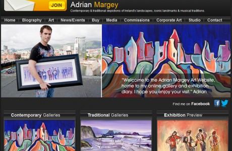 Adrian Margey Website