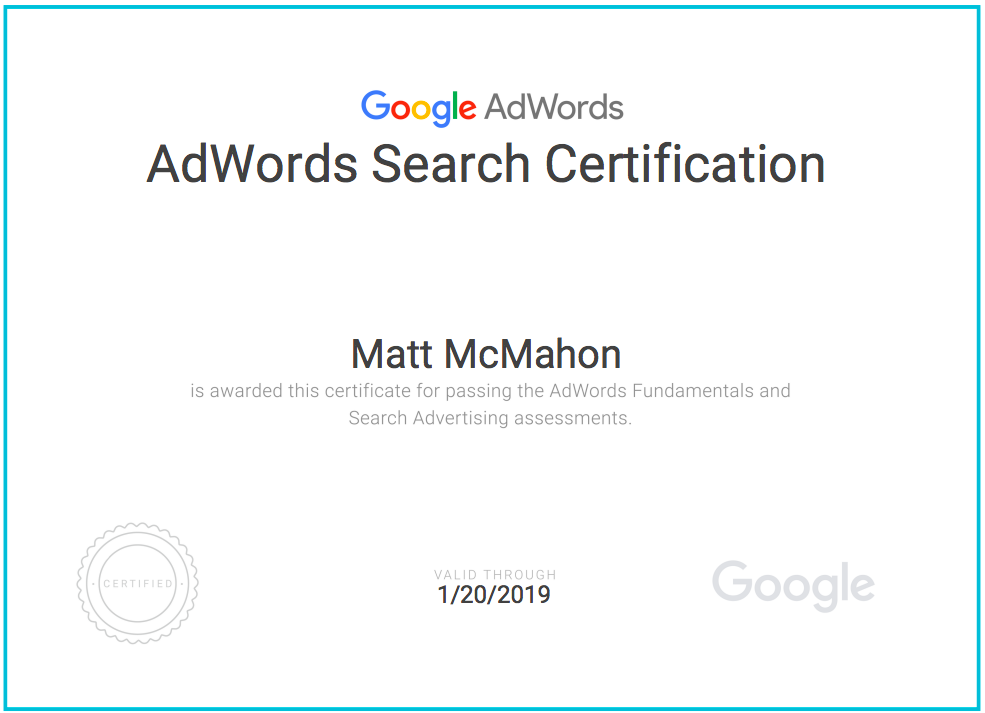 How To Get Google Adwords Certified The Easy Way