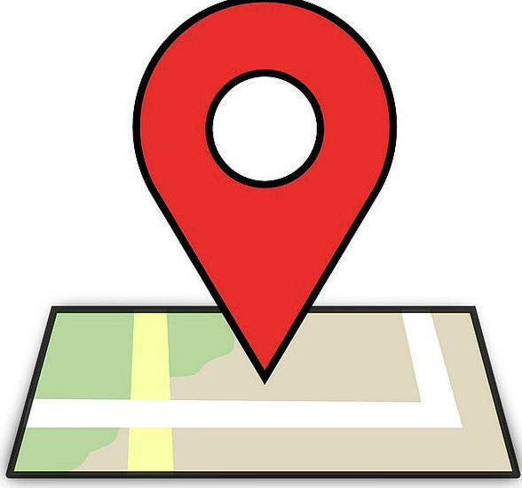 Google Maps Location Pointer