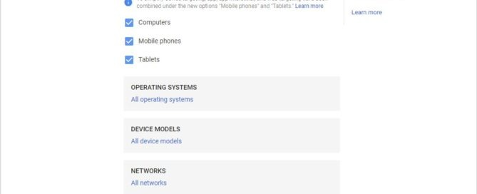 Google Ads Device Exclusion