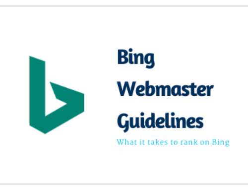 Bing Webmaster Guidelines – What it takes to rank on Bing