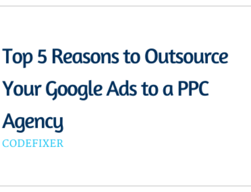 Top 5 Reasons to Outsource Your Google Ads to a PPC Agency