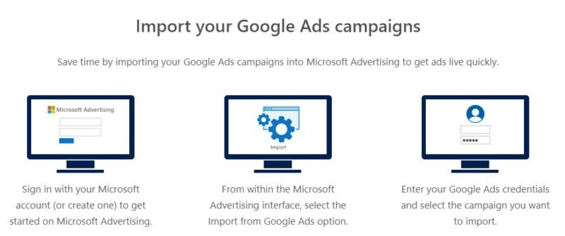 Import Google Ads To Bing Ads